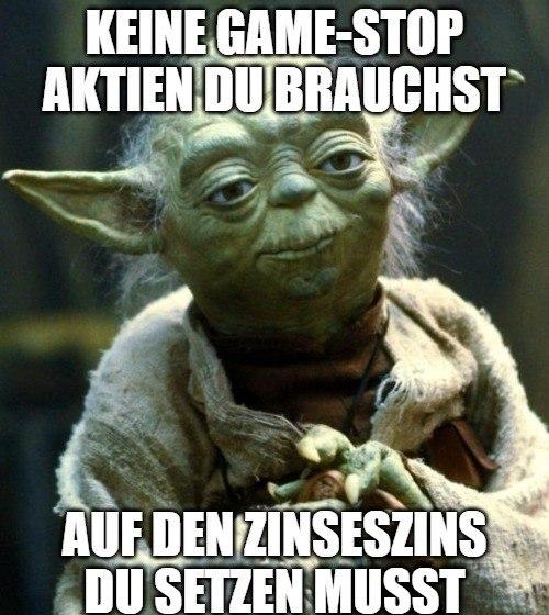 Yoda GameStop Meme