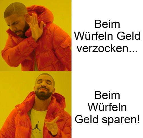 Würfel Challenge Meme