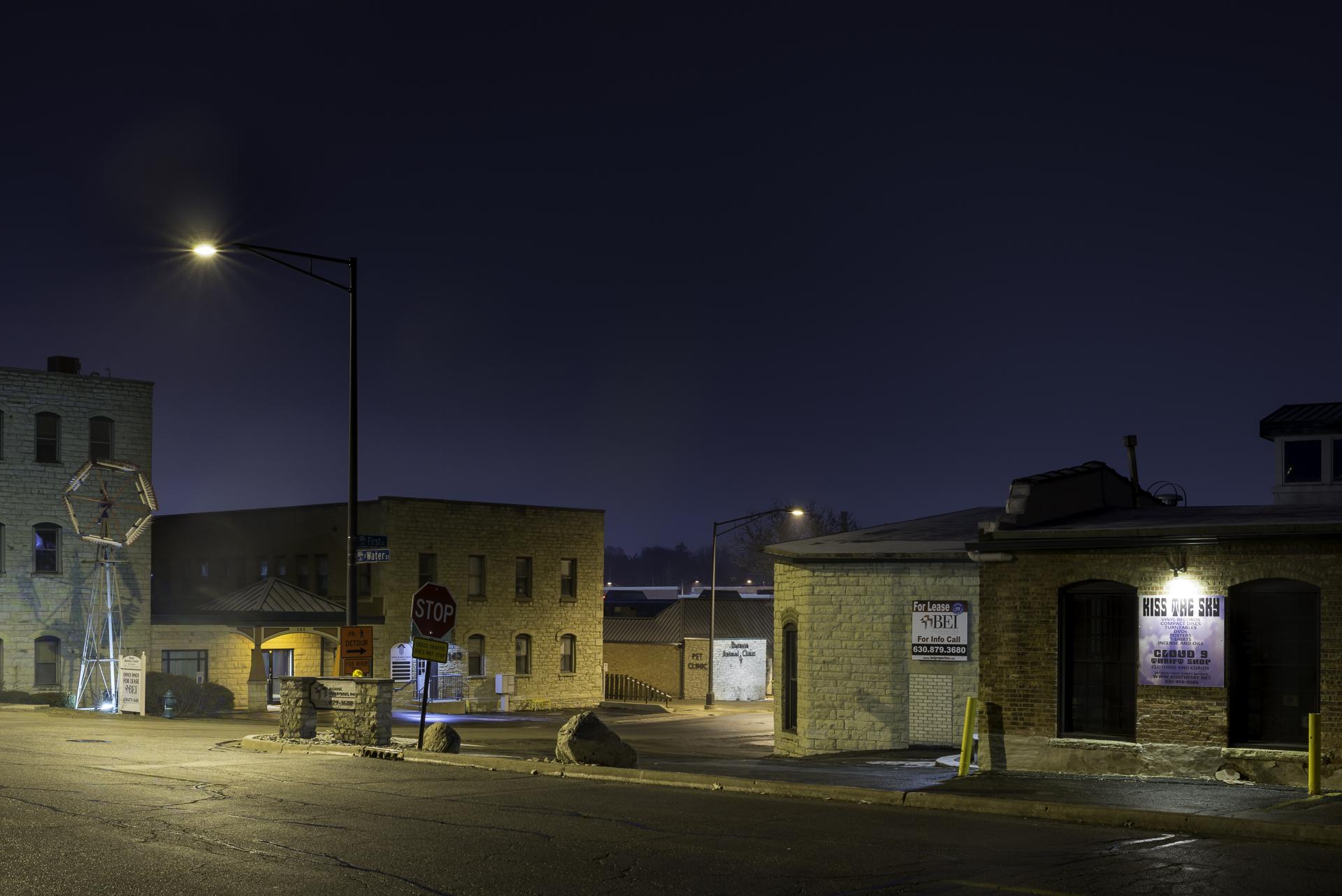 Batavia at Night