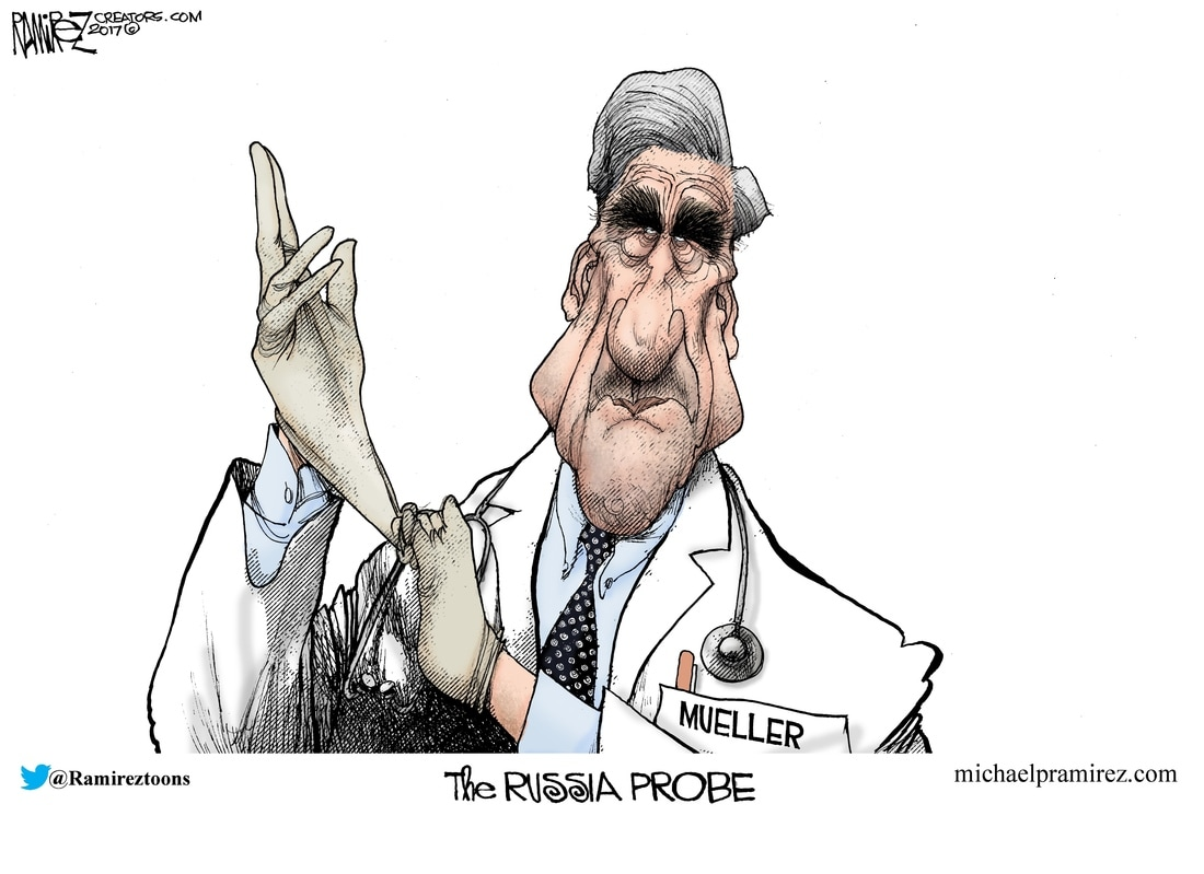 Image result for cartoon about trump firing mueller