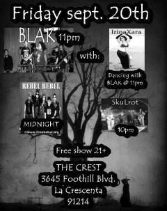 Skulrot in La Crescenta this Friday