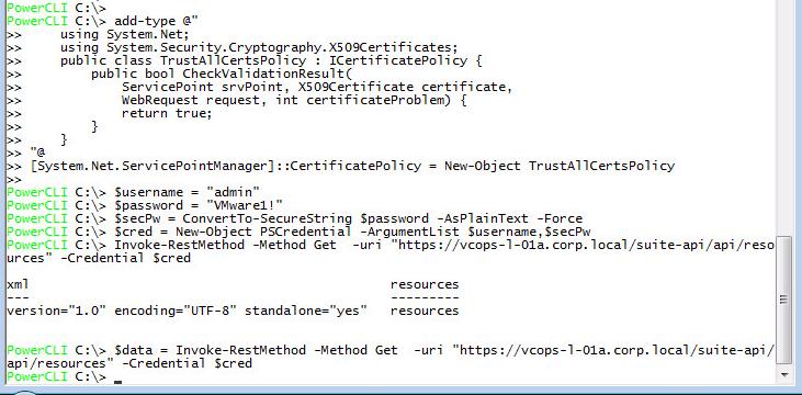 vRops-API-GettingStarted