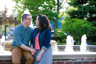 Plymouth Michigan engagement session