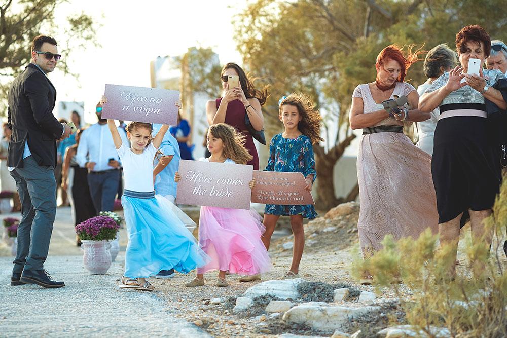 Wedding in Paros - Agios Fokas