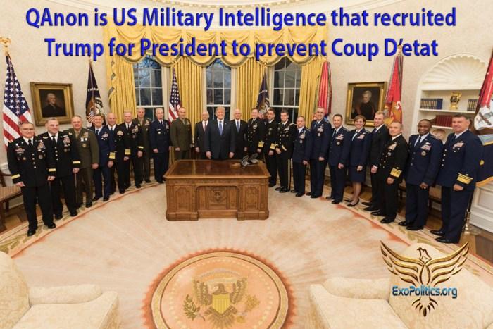 QAnon is Military Intelligence