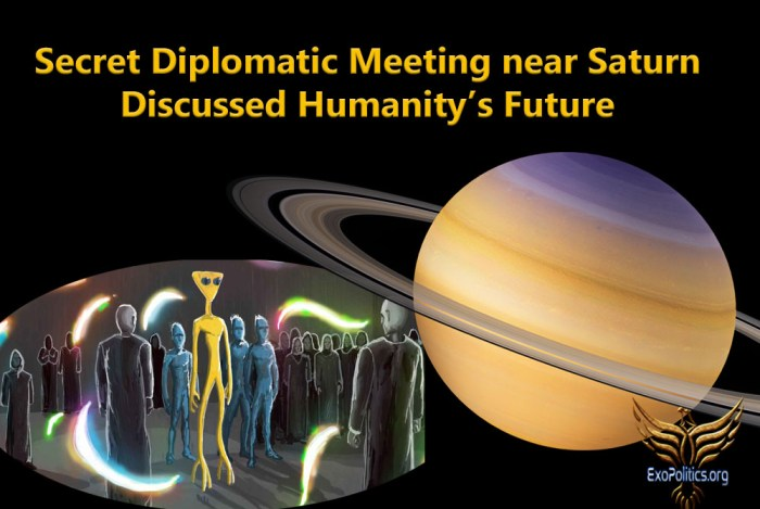 Saturn Meeting Discusses Humanity's Future