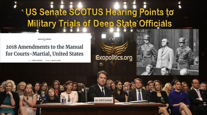 US Senate Scotus Hearing Military Trials