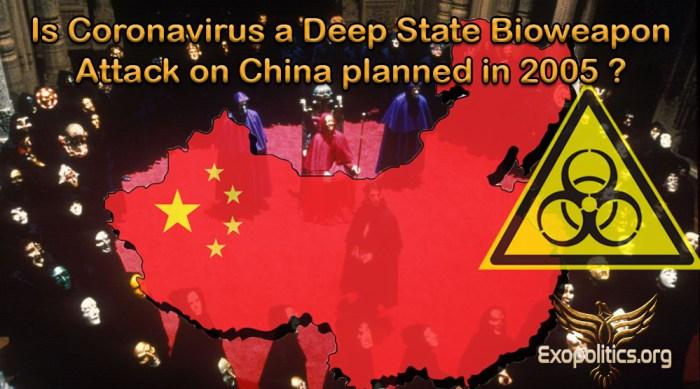 Coronavirus Deep State Bioweapons Attack on China
