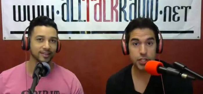 Michael Sartain and Sancho Van Ryan host The VivaVegasTV Show
