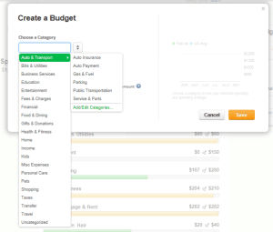 Mint.com is a free budget tracking tool