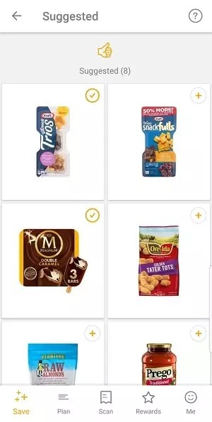 Buy anything from the list of brands and you'll get points