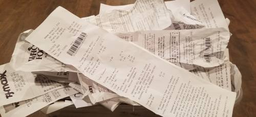 52 weeks of retail receipts