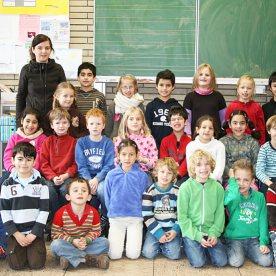 Klasse 2a, Lehrerin: Bettina Eisel