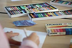 Im Kunstunterricht