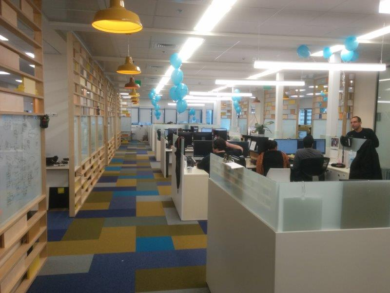 Our new offices