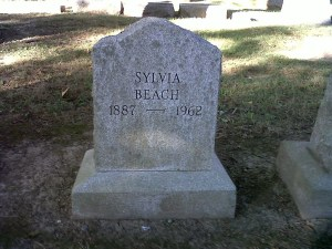 Sylvia Beach and Aaron Burr in Princeton
