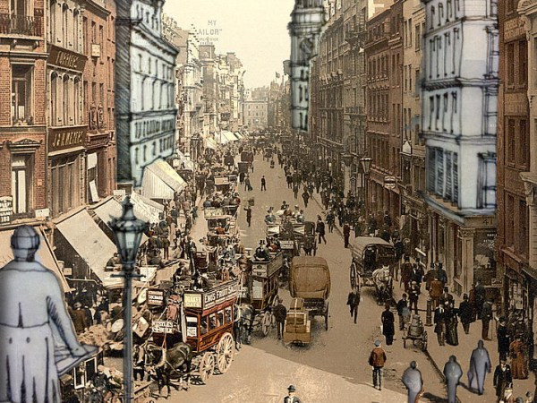 Remix of Cheapside, City of London