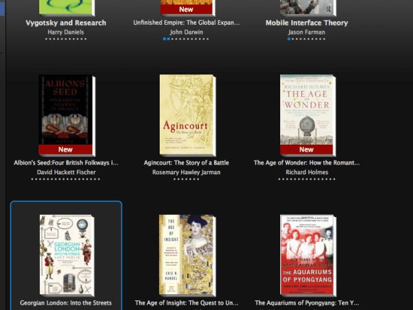 Kindle Reading List
