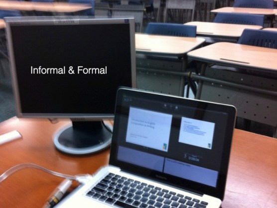 The second continuum is informal and formal. We naturally move between these states in mobile open learning.