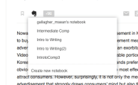 1. Save from Feedly to Evernote.