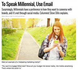 Message Systems MarktingLand Millennials Blogpost