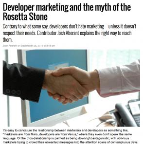 SparkPost MarketingLand Blogpost