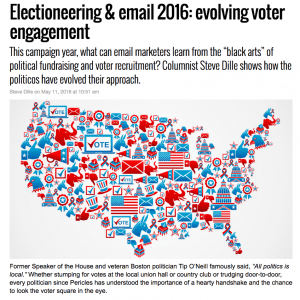 SparkPost MarketingLand column – 2016 Elections