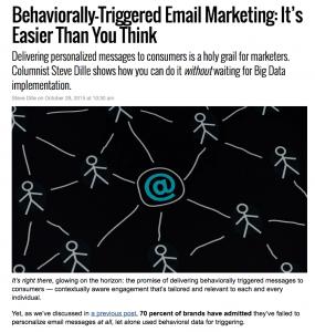 SparkPost MarketingLand column – Behaviorally-Triggered Email