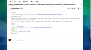 Mariana Blog Promotion Email