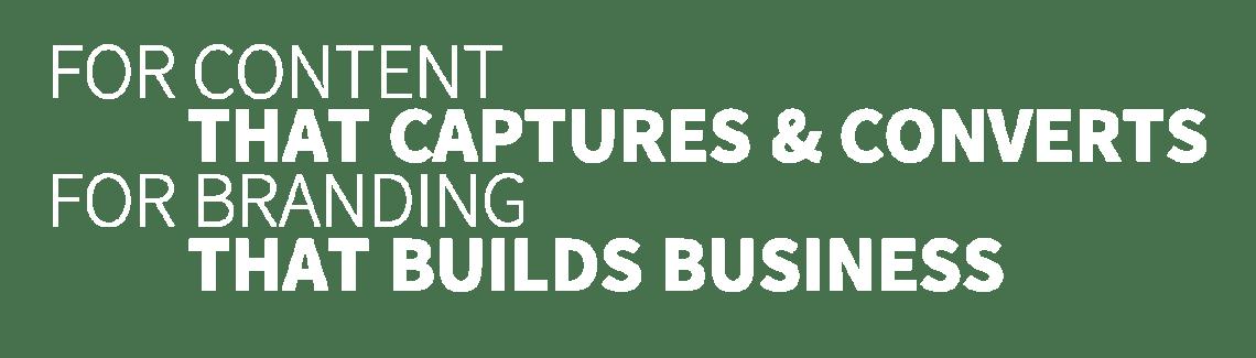 Content Marketing & Brand Building
