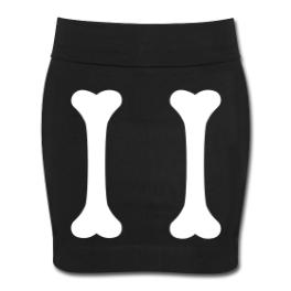 Legs skirt by Michael Shirley