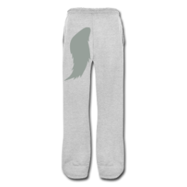 Werewolf (gray) mens swetpants by Michael Shirley