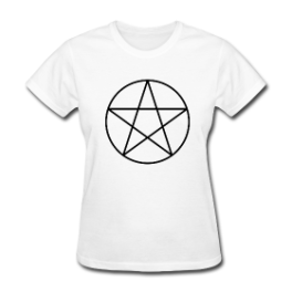 Witchcraft womens tee by Michael Shirley
