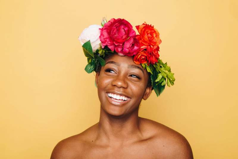 black-woman-smile