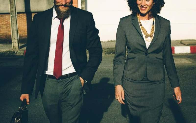 man-woman-business