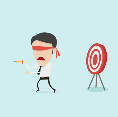 Getting a data science job by throwing darts at a board