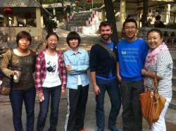 Vacationing in Boshan, Shandong, China, during National Week.