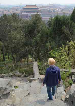 Overlooking Forbidden City