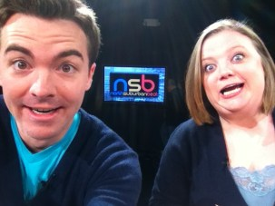 Filming the North Suburban Beat with Ellen Anderson. Roseville, MN, USA.