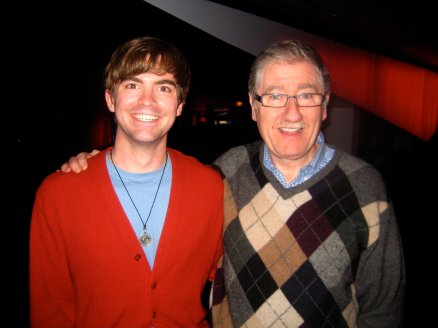 Michael Venske and Guthrie Theater Artistic Director Joe Dowling