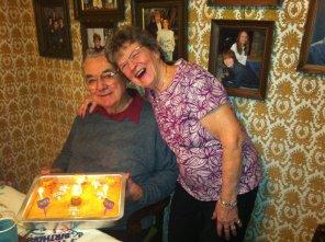 Grandpa and Grandma Venske. Watertown, MN, USA.