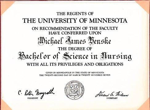 Finally earned my nursing degree!