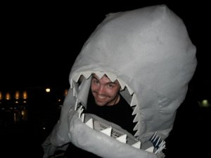 """Show promoting for """"Jaws: The Musical,"""" Minneapolis, 2005."""