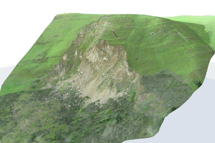 Terrain mapping in Free Flight