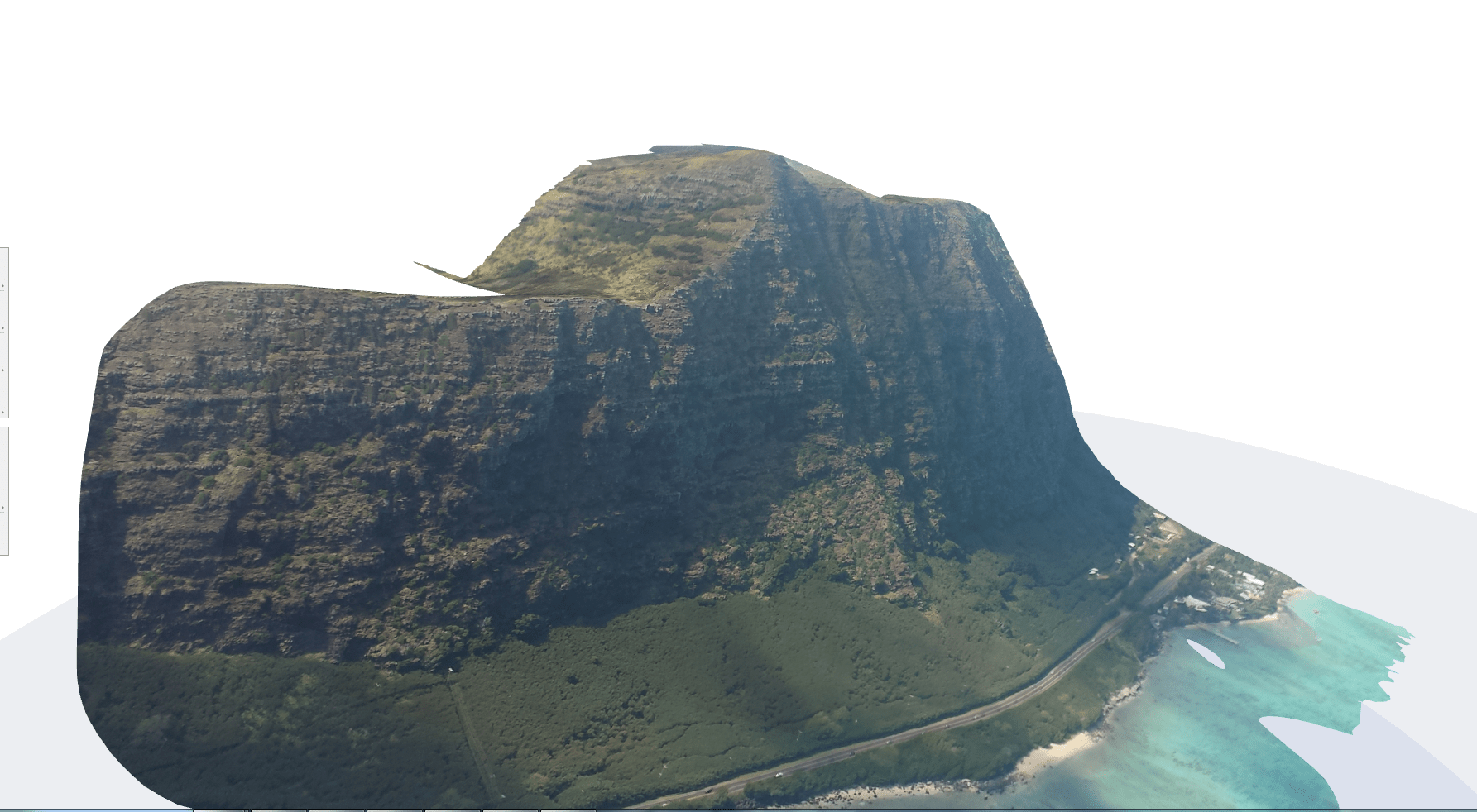 Photogrammetry of Makapuu on Skywalk Arriba 3