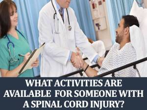 What Activities Are Available for Someone With a Spinal Cord Injury?