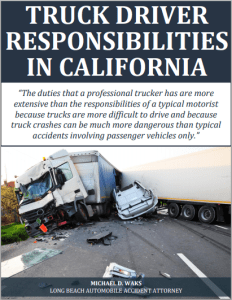 Free Report: Truck Driver Responsibilities in California