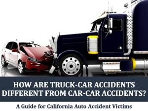 How Are Truck-Car Accidents Different from Car-Car Accidents