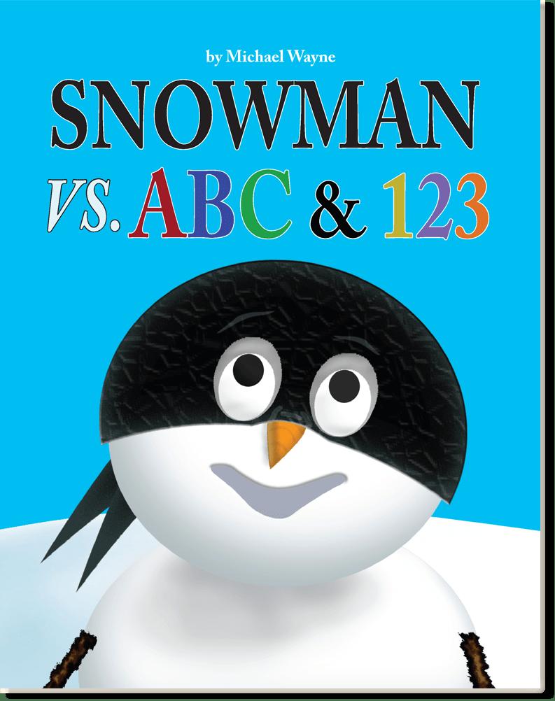 Snowman Vs. ABC & 123 cover