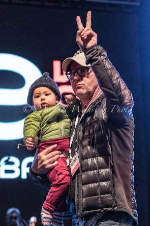 Michael Keaton & Grandson The Kick Ash Bash 2.25.18